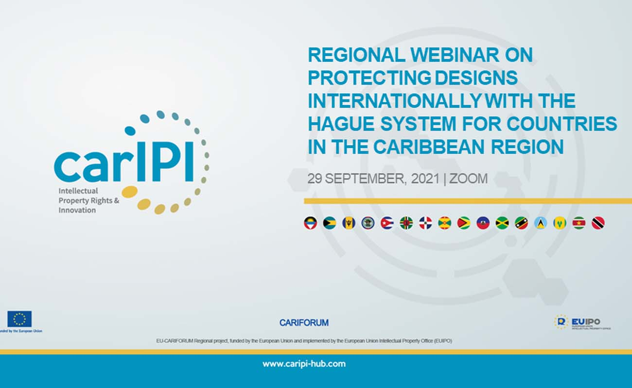 Regional webinar on protecting designs internationally with the Hague System for countries in the Caribbean region
